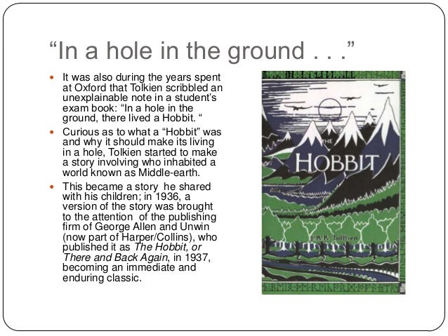 the qualities of a hero in the story the hobbit by jrr tolkien Newly-recovered book from lord of the rings' jrr tolkien will tell the first real story of middle-earth the lost tale of the fall of gondolin will finally be told.