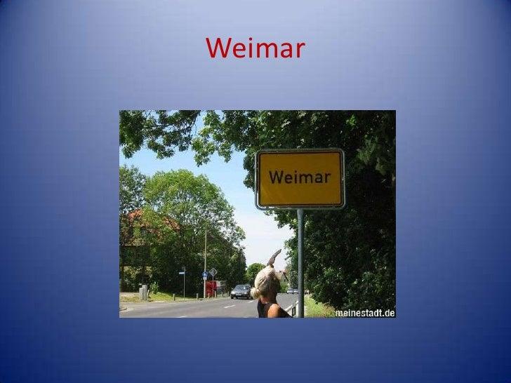 Weimar<br />