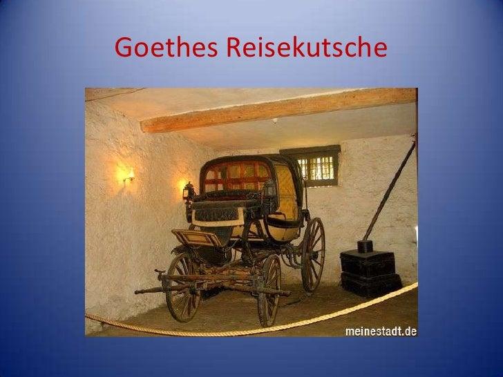 GoethesReisekutsche<br />