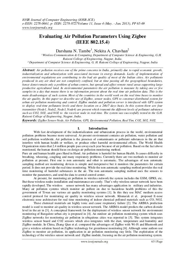 IOSR Journal of Computer Engineering (IOSR-JCE) e-ISSN: 2278-0661, p- ISSN: 2278-8727Volume 11, Issue 4 (May. - Jun. 2013)...