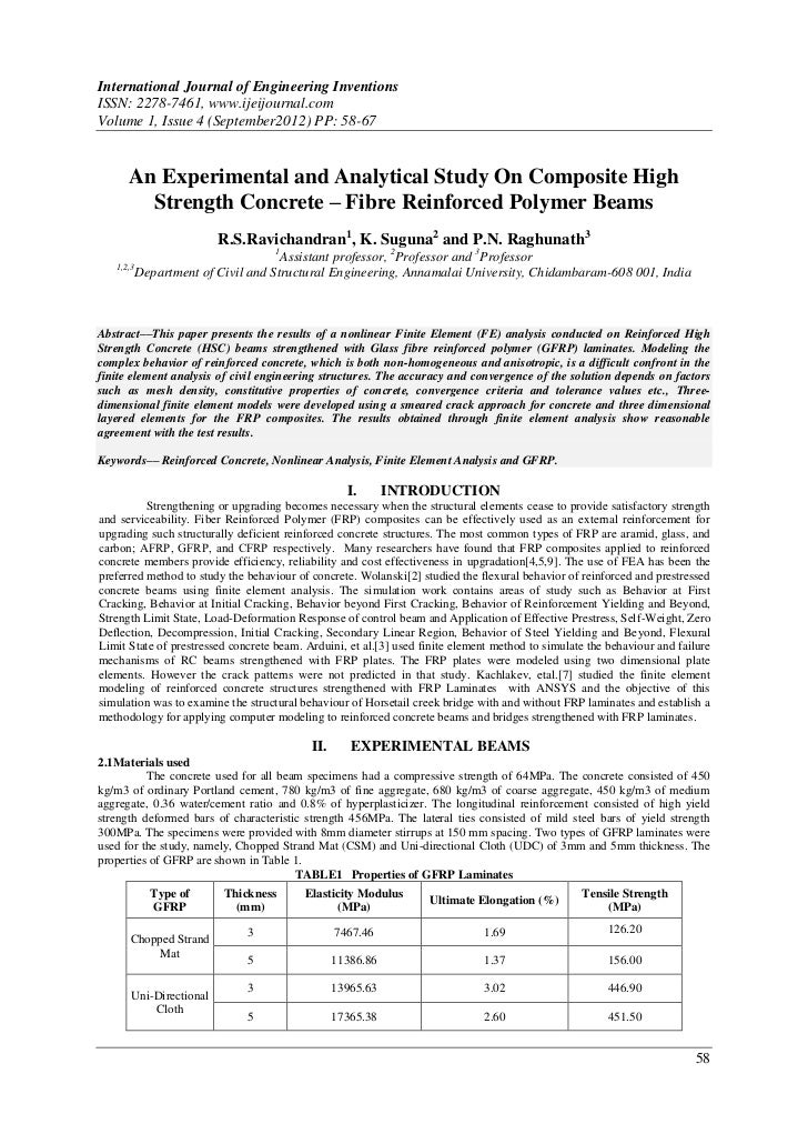 International Journal of Engineering InventionsISSN: 2278-7461, www.ijeijournal.comVolume 1, Issue 4 (September2012) PP: 5...