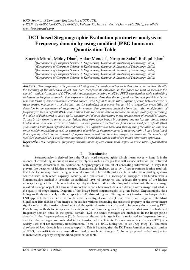 IOSR Journal of Computer Engineering (IOSR-JCE) e-ISSN: 2278-0661,p-ISSN: 2278-8727, Volume 17, Issue 1, Ver. V (Jan – Feb...