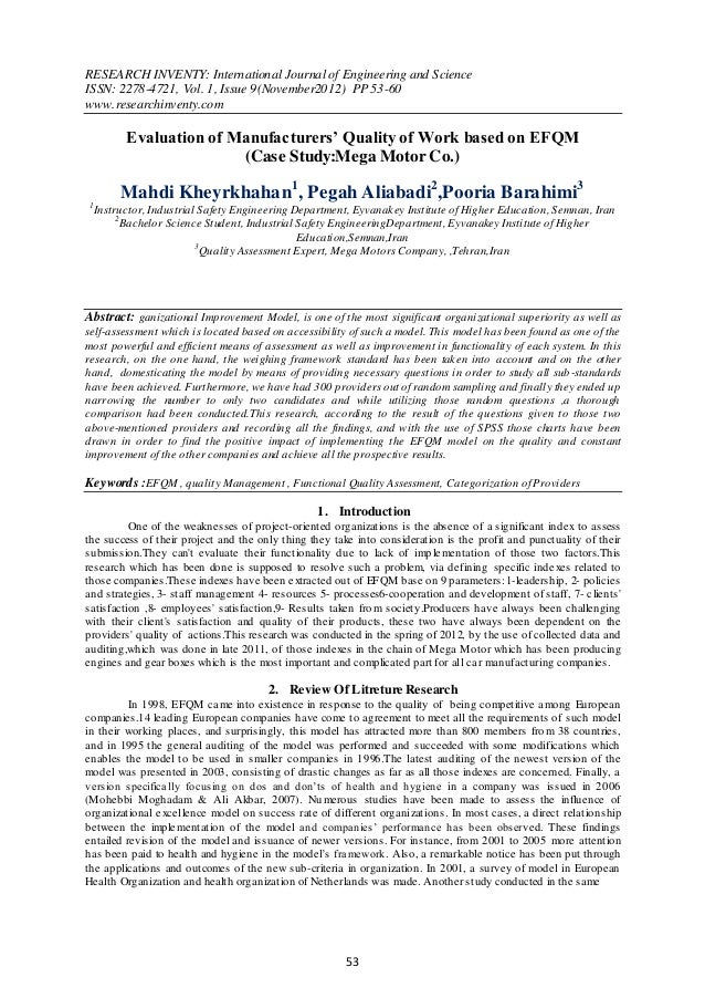 RESEARCH INVENTY: International Journal of Engineering and ScienceISSN: 2278-4721, Vol. 1, Issue 9(November2012) PP 53-60w...