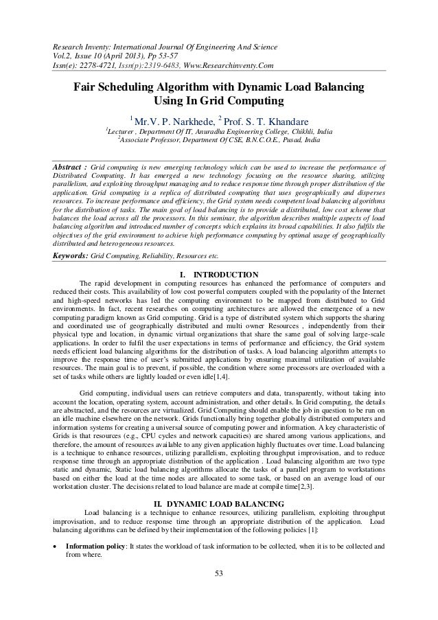 Research Inventy: International Journal Of Engineering And ScienceVol.2, Issue 10 (April 2013), Pp 53-57Issn(e): 2278-4721...