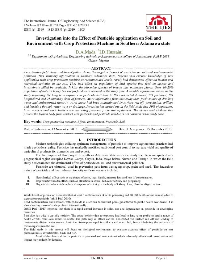 The International Journal Of Engineering And Science (IJES) || Volume || 2 ||Issue|| 12 || Pages || 71-76 || 2013 || ISSN ...