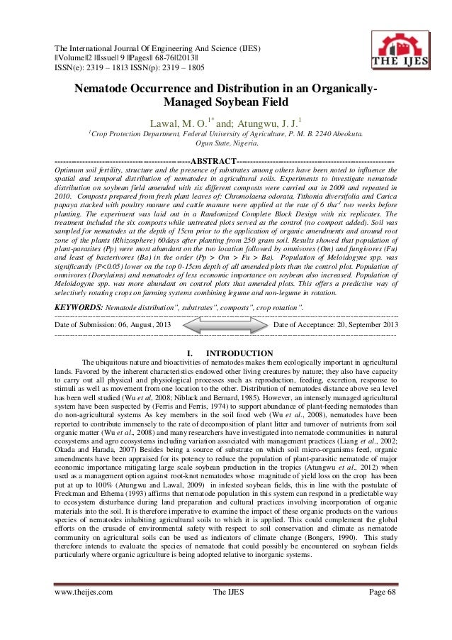 The International Journal Of Engineering And Science (IJES) ||Volume||2 ||Issue|| 9 ||Pages|| 68-76||2013|| ISSN(e): 2319 ...