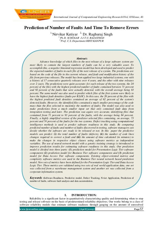 International Journal of Computational Engineering Research  Vol, 03  Issue, 4  www.ijceronline.com   April  2013   Page 5...