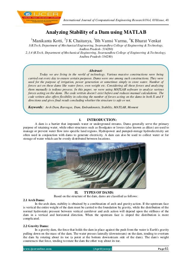 International Journal of Computational Engineering Research||Vol, 03||Issue, 4||www.ijceronline.com ||April||2013|| Page 6...