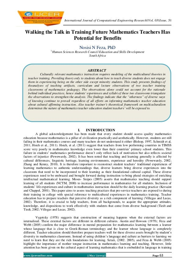 International Journal of Computational Engineering Research||Vol, 03||Issue, 5||www.ijceronline.com ||May ||2013|| Page 63...