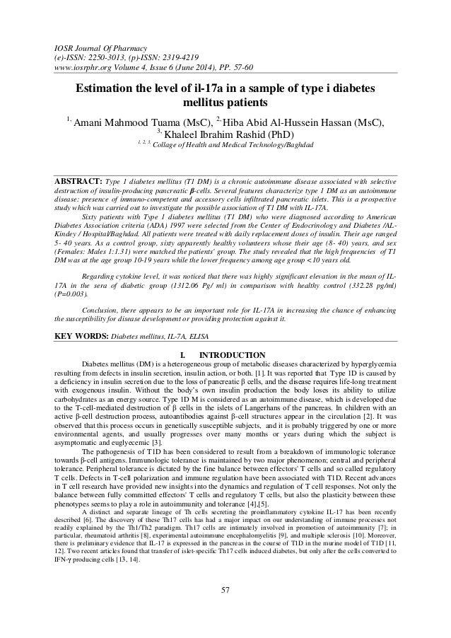 IOSR Journal Of Pharmacy (e)-ISSN: 2250-3013, (p)-ISSN: 2319-4219 www.iosrphr.org Volume 4, Issue 6 (June 2014), PP. 57-60...