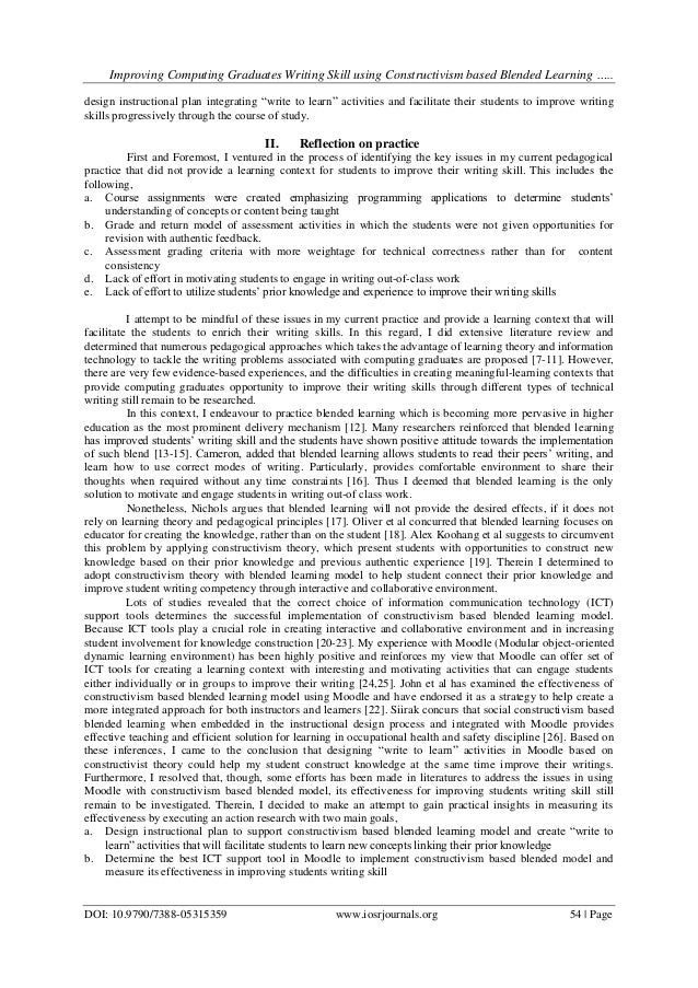 learning and skill essay How to write better essays: have one if you're learning a foreign grades if you're underperforming and see point 7 regarding essay writing skills.