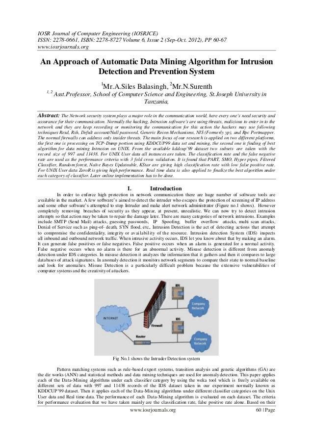 IOSR Journal of Computer Engineering (IOSRJCE) ISSN: 2278-0661, ISBN: 2278-8727 Volume 6, Issue 2 (Sep-Oct. 2012), PP 60-6...