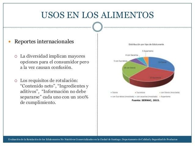  Reportes internacionales  La diversidad implican mayores opciones para el consumidor pero a la vez causan confusión.  ...