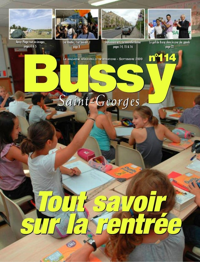 Bussy Plage tout en images   Les Virades, c'est bientôt !   Stationnement : la nouvelle donne   Le golf de Bussy dans la c...
