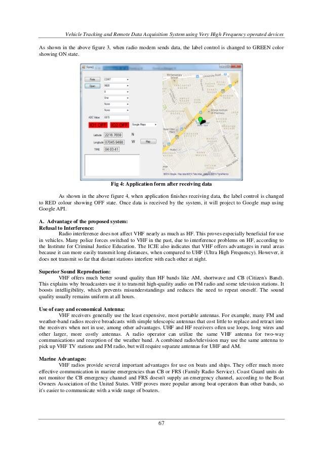 Automotive Data Acquisition System : Vehicle tracking and remote data acquisition system using
