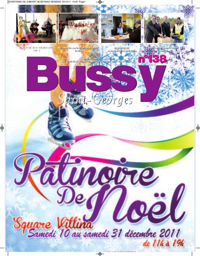 BUSSYMAG138_GABARIT BUSSYMAG NEW2009 05/12/11 13:40 Page1       UN OCTOBRE DES PLUS CULTURELS   LE SALON DU MARIAGE TRÈS F...