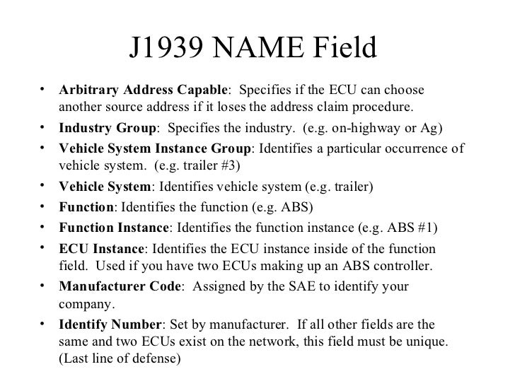 J1939 presentation by Simma Software