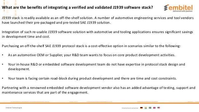J1939 Stack Source Code