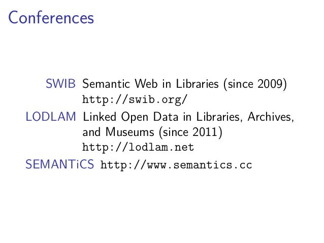 Connections that work: Linked Open Data demystified