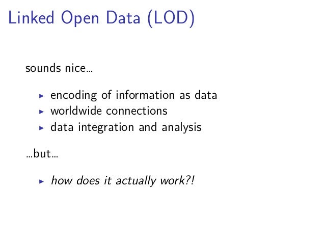 Data  ▶ all data refers to something