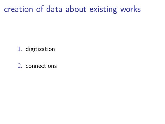 why Linked Open Data?