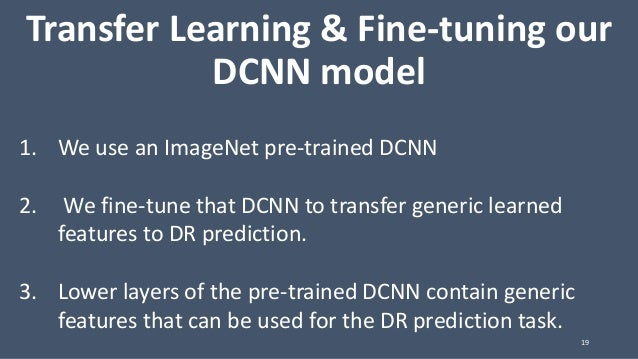 Transfer Learning and Fine-tuning Deep Neural Networks