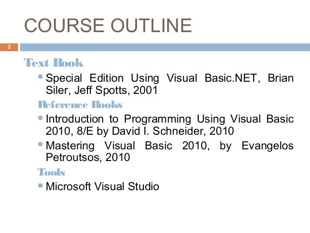 Visual Basic 2010 Programmers Reference Book