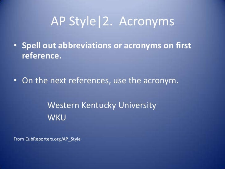 Writing blog posts in ap style for Last name pictures architecture