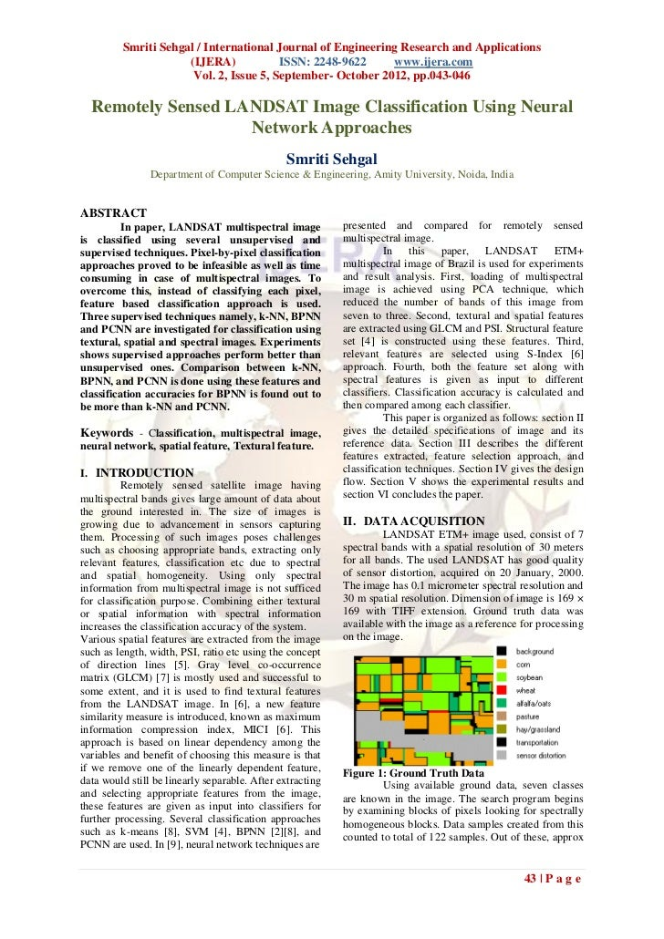 Smriti Sehgal / International Journal of Engineering Research and Applications                     (IJERA)            ISSN...