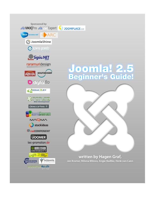 Joomla! 2.5Beginner's Guide                   2
