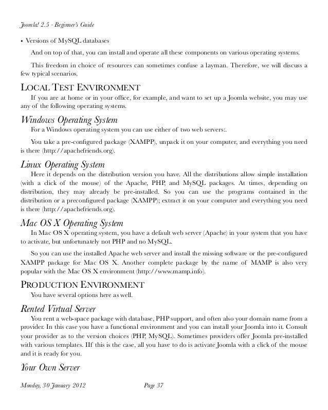 Joomla 25 tutorial for beginner pdf 37 fandeluxe Image collections