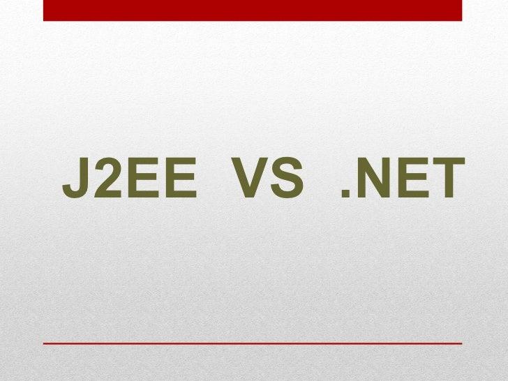 JEE  VS  .NET<br />Présenté par : Ghazouani Mahdi<br />1<br />