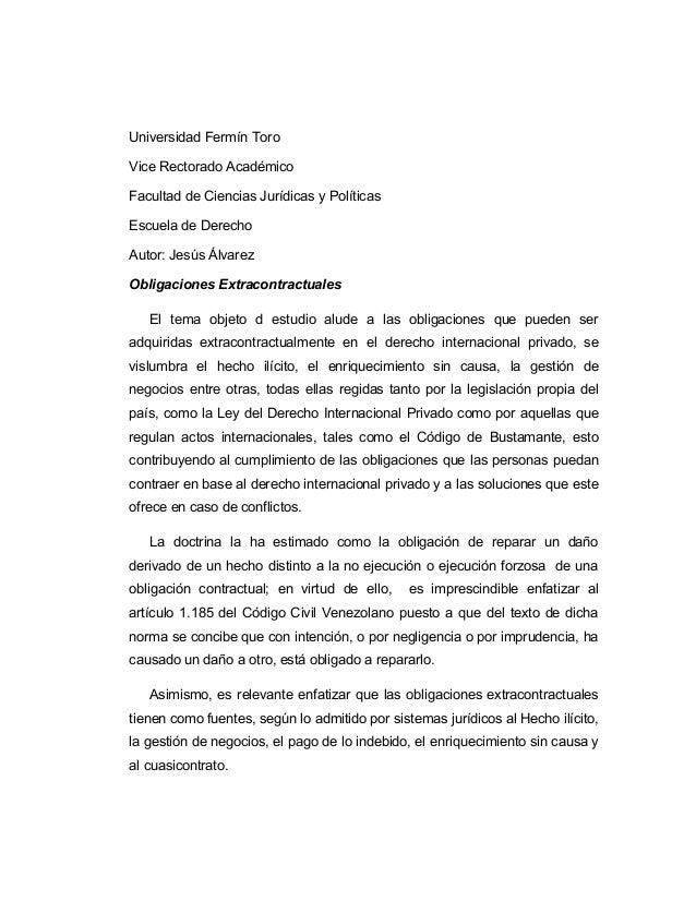 Universidad Fermín Toro Vice Rectorado Académico Facultad de Ciencias Jurídicas y Políticas Escuela de Derecho Autor: Jesú...