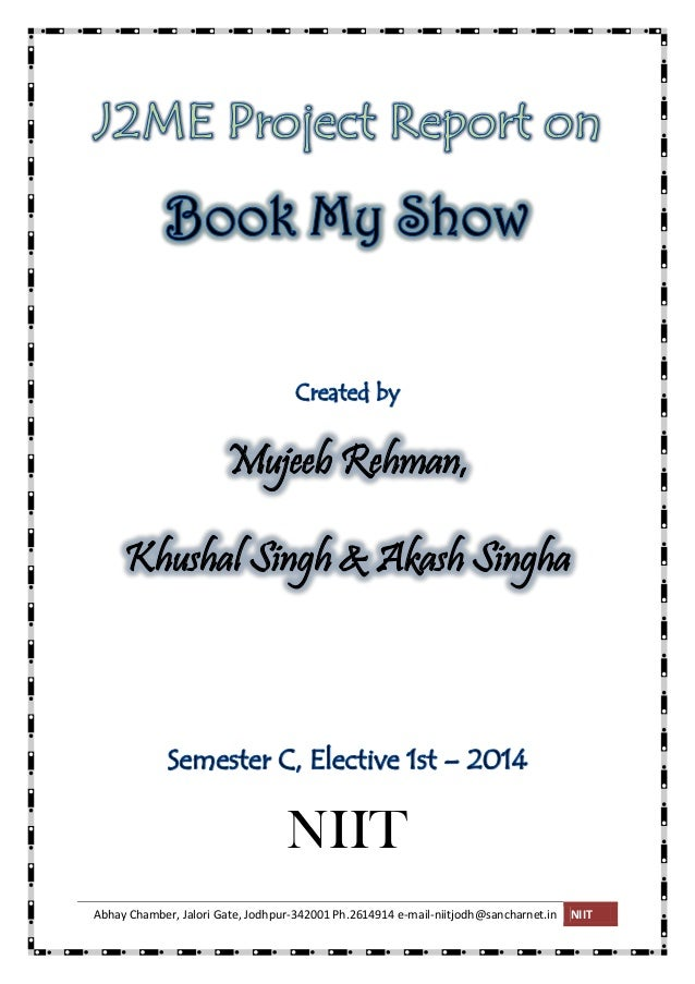 book my show mobile app