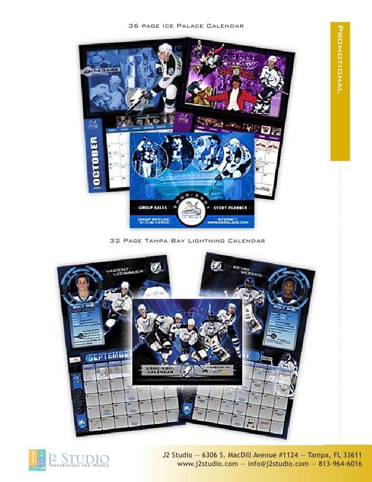 36 page Ice Palace Calendar                                                                               Promotional     ...