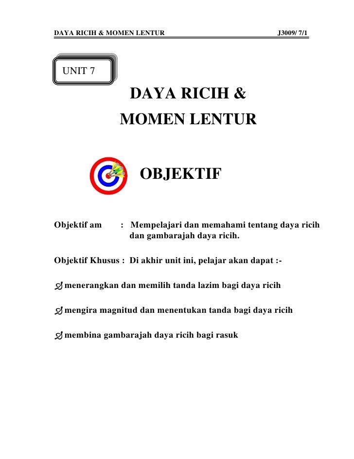 DAYA RICIH & MOMEN LENTUR                               J3009/ 7/1       UNIT 7                     DAYA RICIH &          ...