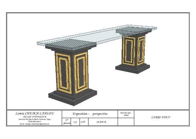 dessiner par lamia cheikh lahlou exposition perspective riad design d interieur 9 imm
