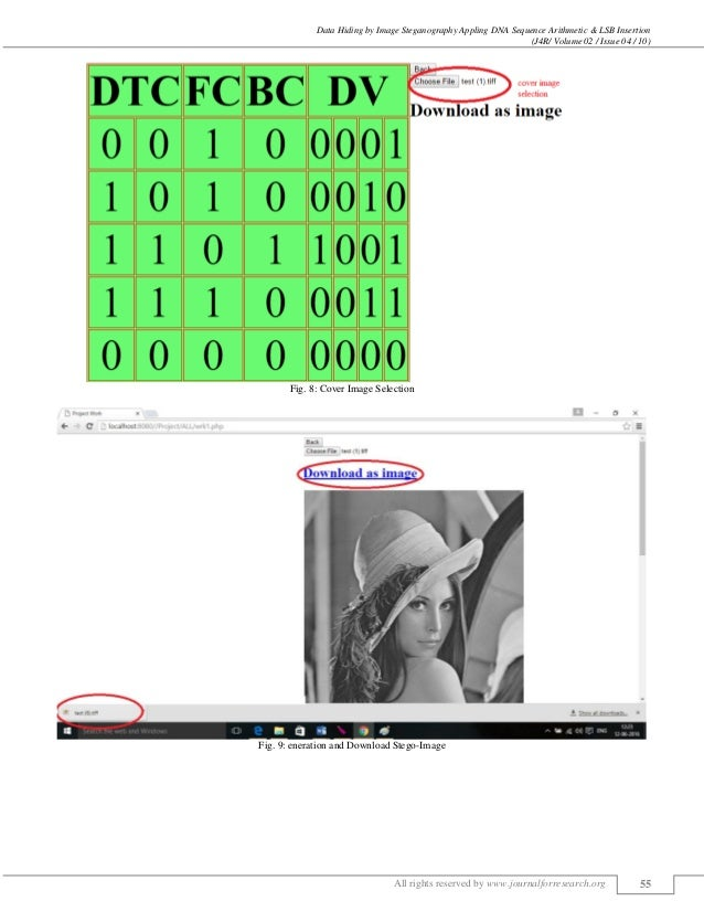 Data Hiding by Image Steganography Appling DNA Sequence Arithmetic & LSB Insertion (J4R/ Volume 02 / Issue 04 / 10) All ri...