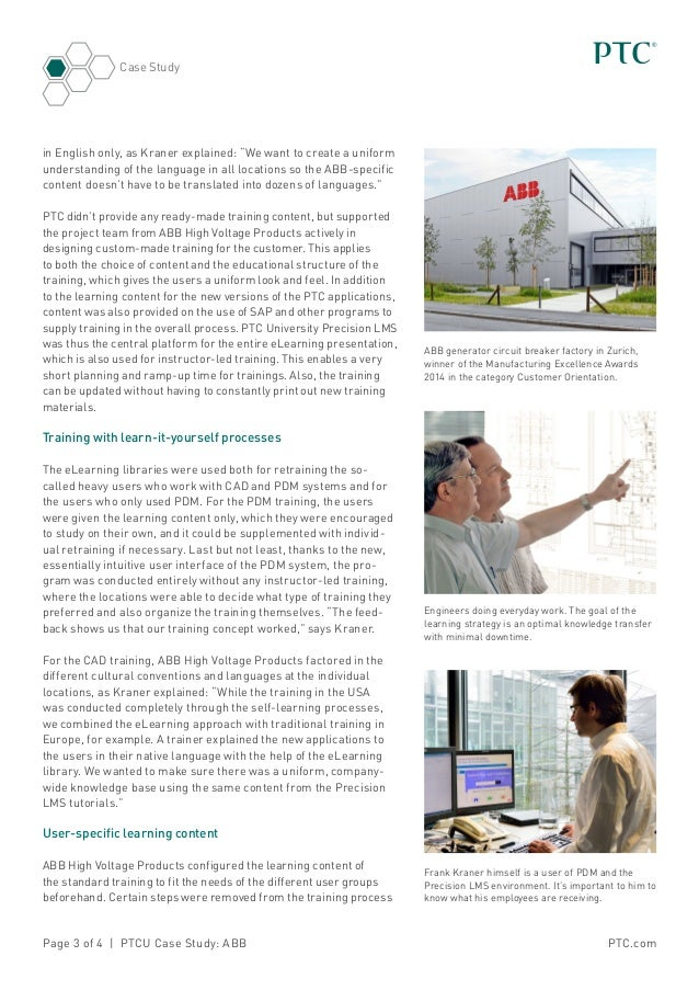 abb case study In two recent projects, italy's abb energy automation has developed a control  solution that feeds data from power plant facilities directly to.