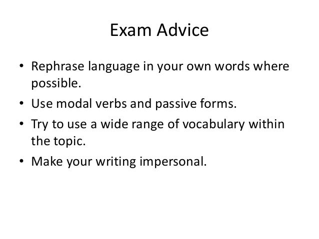 essay writing fce 2 exam advice