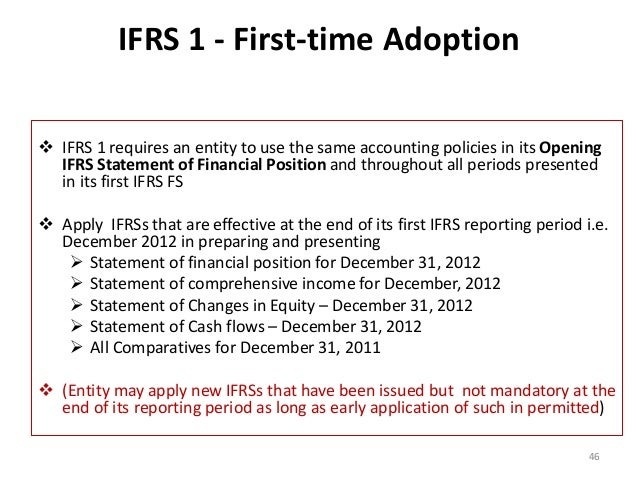 status of adoption of iass ifrss in Understanding ifrs revamping of the sass to fully comply with ifrss, or a full adoption of ifrs as the iass including interpretations.