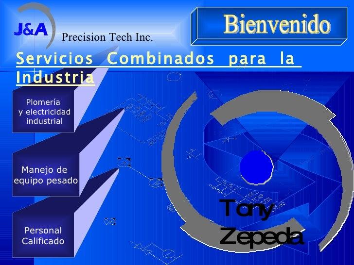 Personal Calificado Manejo de  equipo pesado Plomería y electricidad industrial Servicios  Combinados  para  la  Industria...