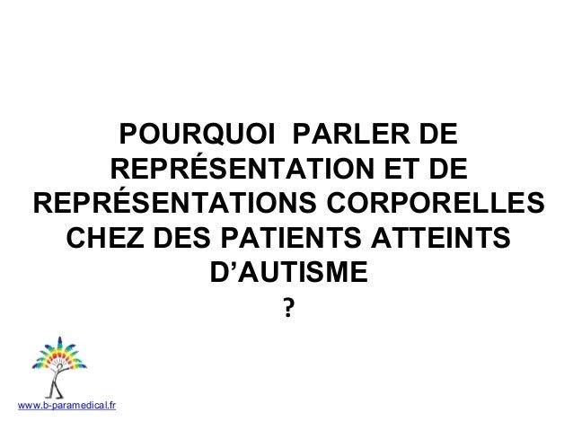 Intervention au JA en thérapie psychomotrice Joanne Belrose & MC Perret Slide 3
