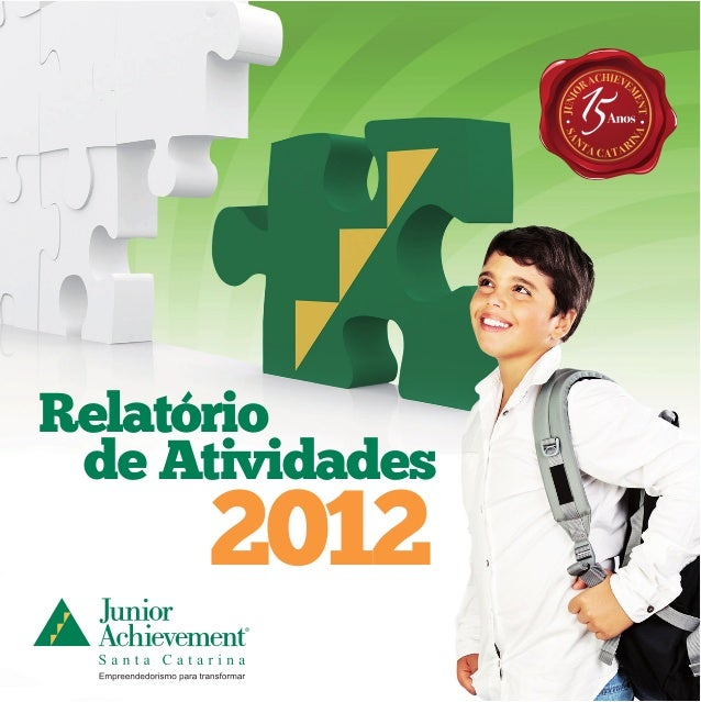 Relatório de Atividades  2012