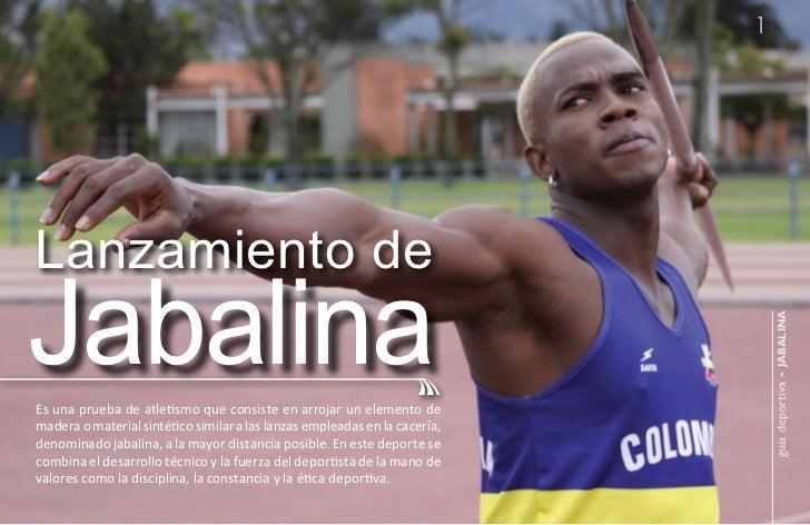 1Lanzamiento deJabalina                                                                                guía deportiva - ja...