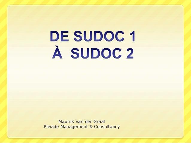 Maurits van der Graaf Pleiade Management & Consultancy