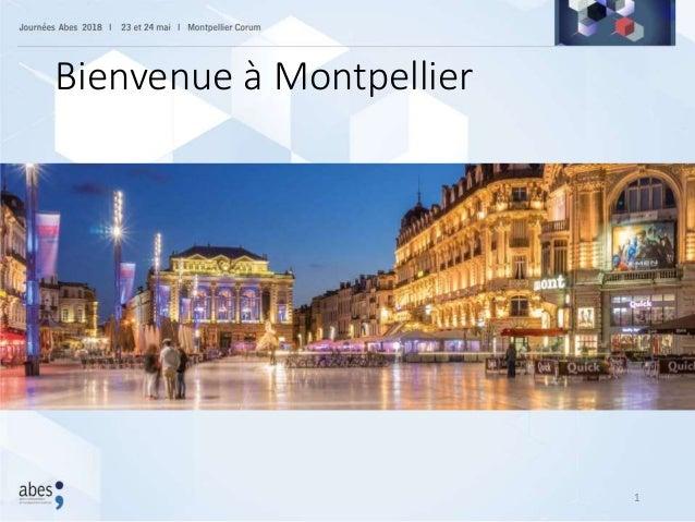 Bienvenue à Montpellier 1