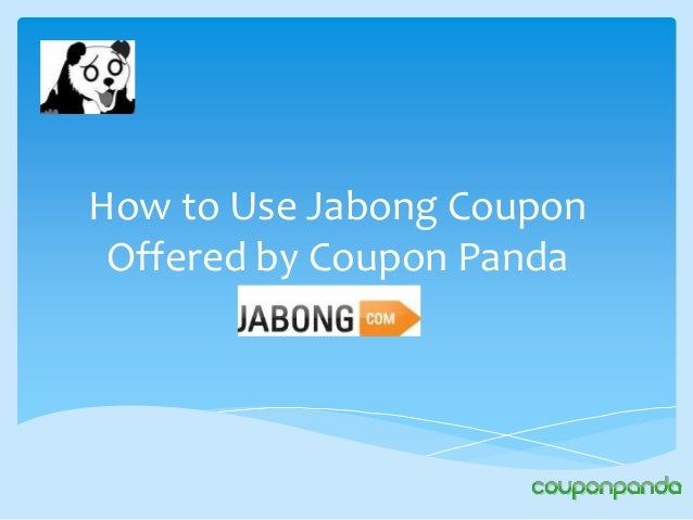 How to Use Jabong Coupon Offered by Coupon Panda