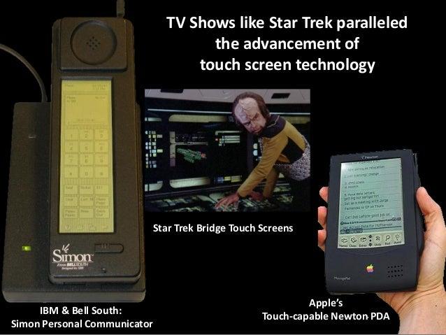 TV Shows like Star Trek paralleled the advancement of touch screen technology  Star Trek Bridge Touch Screens  IBM & Bell ...
