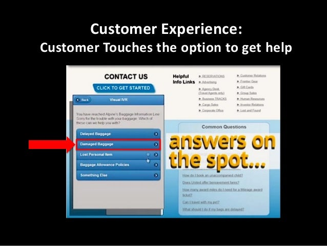 Customer Experience: Customer Answers the question